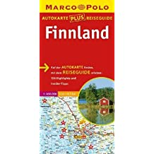 Marco Polo Autokarte plus Reiseguide Finnland 1:850 000