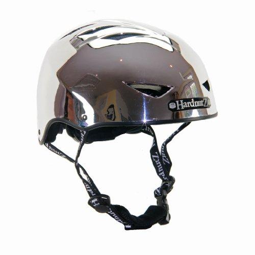 Hardnutz-Helm für Fahrrad-Straße, Unisex - Erwachsene, Chrome, 54-58 cm
