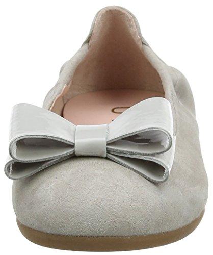 Unisa Mädchen Crosi_ks_pa Geschlossene Ballerinas Grau (Fog)