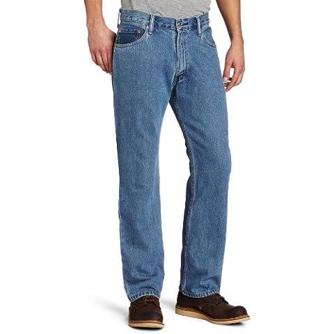 Levi's 505 Regular Fit Jean, Hombre (Levi's 501 con cremallera) (W32/L29 (ES 42), Medium Stonewash)