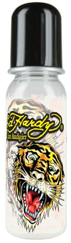 Ed Hardy 340064 - Ed Hardy Baby Fläschchen 250ml Black Tiger (Tiger Hardy Ed Black)