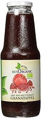 BenOrganic Bio Granatapfel Muttersaft, 6 x 1 Liter