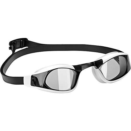 adidas Unisex- Erwachsene Persistar Race Unmirrored Schwimmbrille, Smoke Lenses/Black/Silver Metallic, M