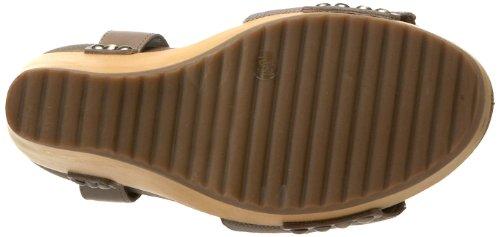 BCBG Max Azria Walter Femmes Toile Sandales Compensés Truffle