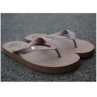 Mocassini & amp da uomo;Slip-Ons Comfort PU Casual Sandali Nero Bianco Grigio Borgogna Khaki sandali US8 / EU40 / UK7 / CN41