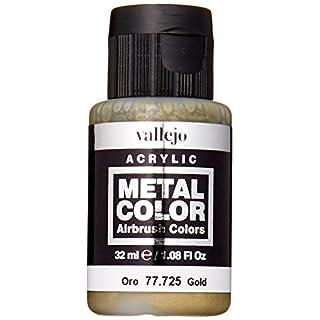 Acrylicos Vallejo 32 ml Metal Color - Gold