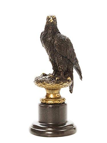 aubaho Bronze Adler Skulptur Eagle Bronzefigur 31cm nach Archibald Thorburn 1860-1935