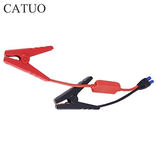 Dailyinshop Notfall Blei Kabel Batterie Krokodilklemme Clip für Auto LKW Starthilfe (Farbe: rot + schwarz) (Cable Booster Clamp)