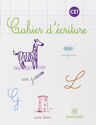 Cahier d'écriture CE1 par Laure Dumesnil