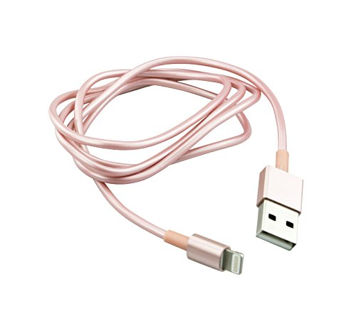 Lade- Synchronisationskabel Lighting auf USB 1m Stecker-Stecker – 8-pin- Kompatibel mit iPhones,...