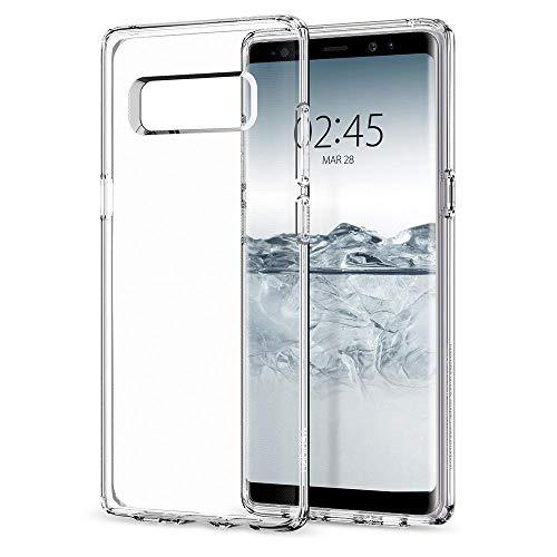Spigen Coque Note 10 [Liquid Crystal] Ultra Mince, Transparente, Légère, Ajustement Parfait, Protection aux 4 Coins - Air Cushion, Coque Compatible avec Galaxy Note 10 (2019)