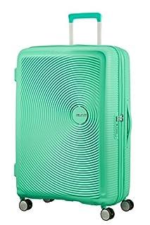 American Tourister Soundbox Spinner Espandibile Bagaglio A Mano, 77 cm, 97/110 L, 4.2 Kg, Verde (Deep Mint) (B079M6ZPXZ) | Amazon price tracker / tracking, Amazon price history charts, Amazon price watches, Amazon price drop alerts