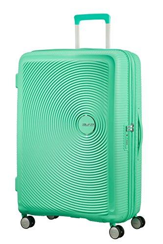American Tourister - Soundbox Spinner Extensible, 77cm, 97/110 L - 4.2 KG, Vert (Deep Mint)