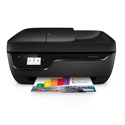 HP OfficeJet 3833 Multifunktionsdrucker (Instant Ink, Drucker, Kopierer, Scanner, Fax, WLAN, Airprint) mit 2 Probemonaten HP Instant Ink inklusive (All One-drucker, In Kompakt)