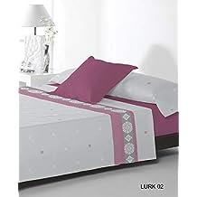 Juego de cama 3 piezas Reig Marti Lurk cama de 90 color Fucsia