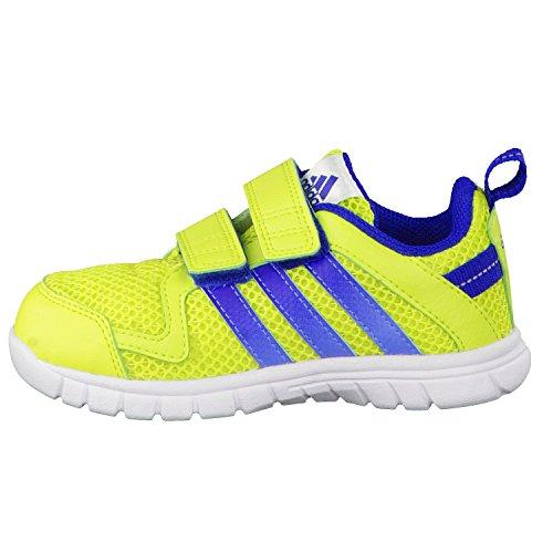 Scarpe adidas bambino Sport STA Fluid 3 CF I Lime/Blu