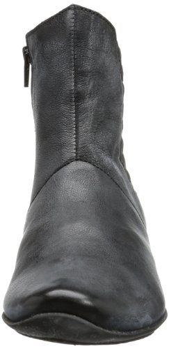 Think  Chilli, bottines classiques femme Noir - Schwarz (schwarz 00)