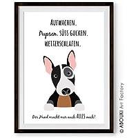 ABOUKI lustiger Kunstdruck - ungerahmt -