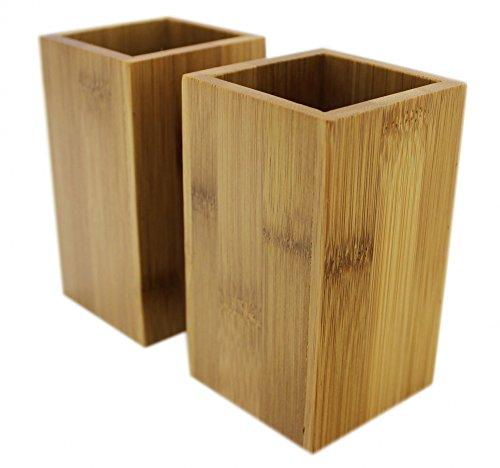 Bambus Zahnbürstenhalter – 2er Set - 3