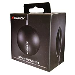 GlobalSat BU-353-S4 USB GPS Receiver (SiRF Star IV/Black)