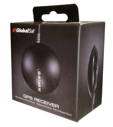 GlobalSat BU-353-S4 USB GPS Receiver ANTENA GPS USB SOPORTE MAGNÉTICO - CHIP...
