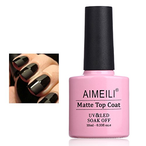 AIMEILI Top Coat Mate Esmalte Semipermanente