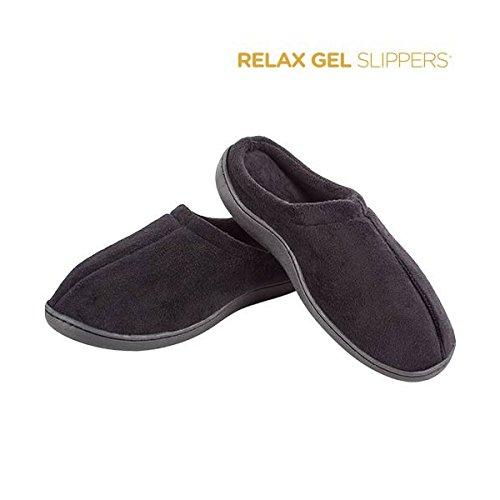 Zapatillas Gel Relax–pantufla anti fatiga dolor talla–M Color–Marrón