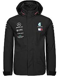 7061cee641e0f Mercedes-AMG Petronas Motorsport Men's 2019 F1™ Team Rain Jacket Black ...