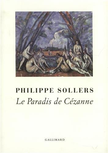 Le Paradis de Cézanne par Philippe Sollers