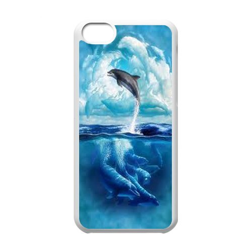LP-LG Phone Case Of Dolphin For Iphone 5C [Pattern-6] Pattern-5