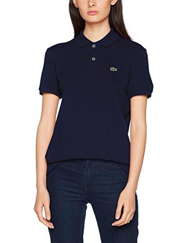 Lacoste Damen Poloshirt Pf7839, Blau (Marine) (Herstellergröße: 36)