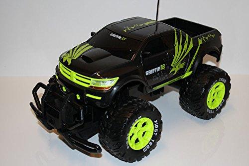 RC USA Monster Truck Ingles Warrior ferngesteuertes Auto Geländewagen Pick Up riesige Gummireifen - alles - Usa Truck