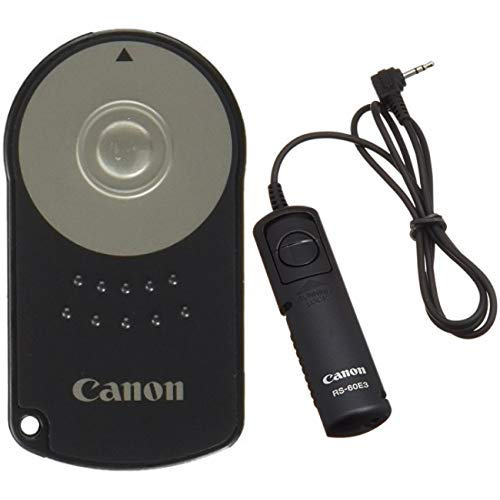 Canon RC-6 Infrarot-Fernauslöser &  RS-60 E3 Kabelfernauslöser