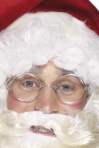 Smiffys 675 - Draht gerahmten Santa specs, silber Smart-draht Com