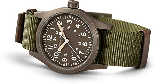 Armbanduhr Hamilton Khaki Field Mechanical Officer H69449961