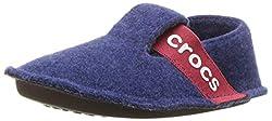 Crocs Unisex-Kinder Classic Slipper Kids Pantoffeln, Blau (Cerulean Blue),J1 UK(32-33 EU)