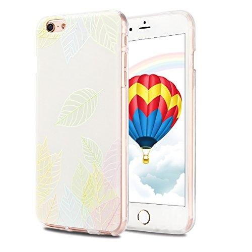 Coque iPhone 6 Plus , Etui iPhone 6 Plus , CaseLover Etui Coque TPU Slim pour iPhone 6S Plus / 6 Plus (5.5 pouces) Mode Flexible Souple Soft Case Couverture Housse Protection Anti rayures Mince Transp Feuille