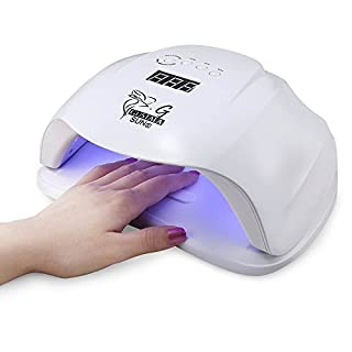 Gustala® Nail Dryer UV 54W LED Nail Curing Lamp Professional with LED Display Body Sensor for Gel Polish