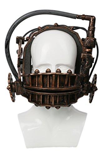 Xcoser Reverse Trap Maske Bronze Harz Weich Helm Horror Film Cosplay Kostüm Requisiten für Halloween Verrücktes Kleid Waren - Horror-film-figuren