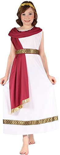 Kostüm Römische Mädchen 10-12 ans (130-140 (Römische Kostüm Mädchen)
