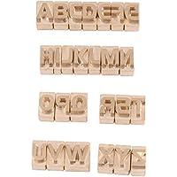 26 Unidades/juego de letras mayúsculas Alfabeto Set Arte de cuero DIY para estampado de sellos