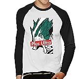 Plus Ultra Skate Brand My Hero Academia Men's Baseball Long Sleeved T-Shirt