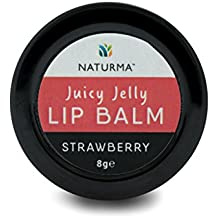 Naturma Juicy Jelly Strawberry 8ge Lip Balm (Red, NAT17043)