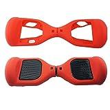 Coque de protection à 180 ° en silicone pour hoverboard et trottinette électrique à deux roues...