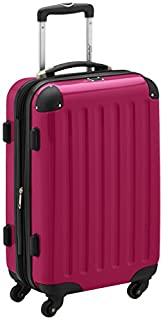 HAUPTSTADTKOFFER - Alex - Carry on luggage On-Board Suitcase Bag Hardside Spinner Trolley 4 Wheel Expandable, 55cm, TSA, pink (B007QTFGC0) | Amazon price tracker / tracking, Amazon price history charts, Amazon price watches, Amazon price drop alerts