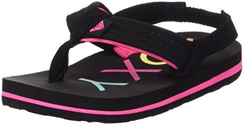 roxy-tw-vista-ii-baby-girls-flip-flop-sandals-multicolore-black-6-uk-23-eu-