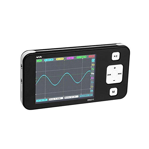 Starnearby DS211 - Osciloscopio digital (1 MSa/s, 200 kHz, TFT, LCD)