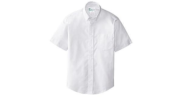 CLASSROOM Little Boys Short Sleeve Oxford Shirt White 4 57601-WHT