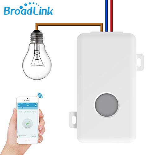 broadlink SC1 WiFi Remote Control Light Switch Kit VS Smart Home Automatisierung Kabellose Timer 10 A 4-Loch Terminal Intelligente Steckdose remoted Per Telefon -