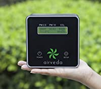 Airveda PM2.5, PM10, CO2, Temp, Humidity Air quality Monitor - Made in India
